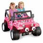 Power Wheels Minnie Jeep Wrangler Carro Juguete Eléctrico