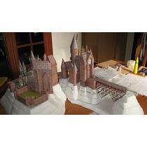 Maquete De Papel 3d - Hogwarts - Harry Potter + 5 Brindes