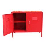 Mueble Metálico Rojo - Decorala