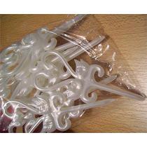Toppers Cisnes Acrilicos Blancos X 10 Unid.