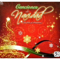 Cd Triple Navideño: The Best Of Chirstmas 2008