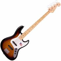 Contra Baixo Sx Vintage Jazz Bass Sjb Sunburst 4 Cordas