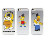Iphone Protector Case Funda Simpsons Iphone Se, 5, 5s.