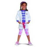 Disfraz De Doctora Juguetes De Lujo Para Niña Talla Xs