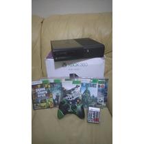 Xbox 360 Super Slim (destravado) + Jogos