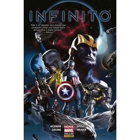 Hq Encardenado Infinito Nova Marvel Deluxe Panini Promoção !