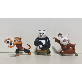 Kung Fu Panda Bonecos Colecionáveis Po Tigresa Mestre Shifu