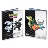 Pokemon Ccg Negro Y Blanco 9-bolsillo De La Cartera (serie