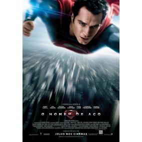 Poster - Superman O Homem De Aço - Original De Cinema -