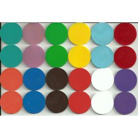 Fichas De Colores Para Loteria, Poker, Y Otros Juegos De Mes