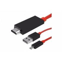 Cable Adaptador Mhl Hdmi Samsung Galaxy S3 S4 Note 2 Tv Hd