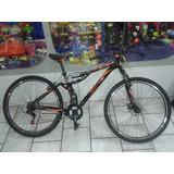 Bicicleta Marca Br Rodada 27.5 Nueva Doble Suspension Y Disc