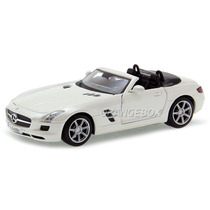 Mercedes Benz Sls Amg Roadster 1:24 Maisto 31272-branco
