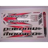 Adesivo Bike Monaco R6 Raptor-frete Grátis