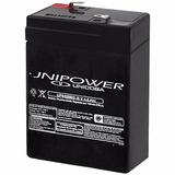 Bateria Selada Up645seg 6v 4,5ah Cftv Unipower Brinquedo