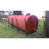 Tanque De Metal 10.000 Litros Para Água Ou Combustível