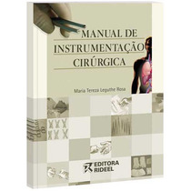 Livro Manual De Instrumentação Cirúrgica