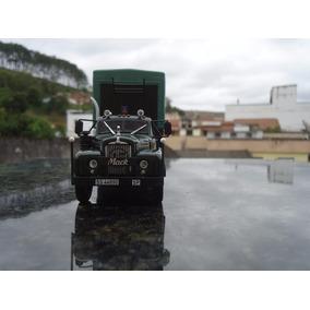 Miniatura De Carreta Mack B-61 T Semi Remorque``san José``