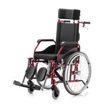 Cadeira De Rodas Fit Reclinável Dobrável Pneu Anti Furo 100k
