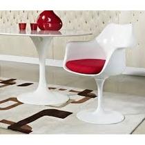 Mesa Saarinen 1.20 Ø Mármore Espirito Santo + 2 Cadeiras