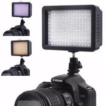 Lámpara 160 Led Para Cámara Canon Nikon Pentax Envío Gratis