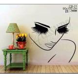 Adesivo Parede Cabeleireiro Manicure Salão Beleza C/nome