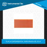 Placa Experimental Perforada 5x10 - Instrumental Tec Quilmes