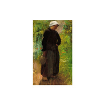 Pintura Arte A Country Woman Art, 24 X36