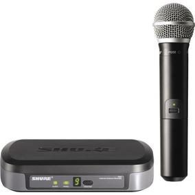 Shure Pg24/pg58 Microfono Y Receptor