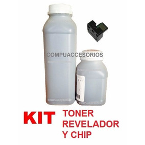 Kit Sharp Toner, Revelador Y Chip Copiadora Al2031 2041 2051