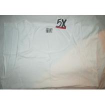 Paquete Camiseta Blanca Hombre Tirante Talla 5 X Canyon R.