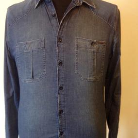 Camisa De Jean Por H.e Varón