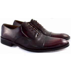 Zapatos De Vestir Cuero Base Suela Hombre Puerto Blue