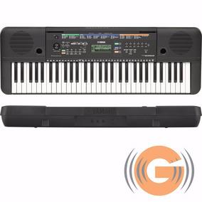 Teclado Yamaha Psr E253 + Fonte Original -loja Goias Musical