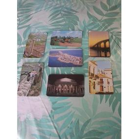 Calendario De Bolsillo C/vistas De Uruguay 1984 Lote X 7 Dif