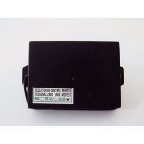 Receptor Unik R-250 Codiplug (control Boton Amarillo Y Negro