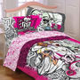 Monster High Doble Consolador Con Una Almohada Sham Conjunt