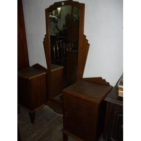 Tocador Art Deco Roble Hermoso!!!!!! Cód.: #0530