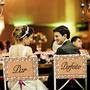2 Placas Cadeira Noivos Par Perfeito/recém Casados Casamento