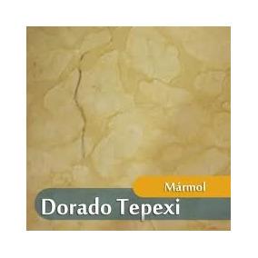 Marmol Dorado Tepeji Directo Del Productor 40x40x01 (m2)