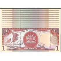 Trinidad & Tobago 10x 1 Dollar 2002 S++/feo P.41.b #ttt41b