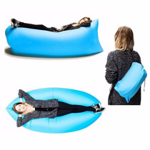 Sillon Saco Sofa Inflable Lazy Bag Playa Bolsa Hangout Cama
