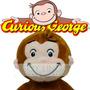 Mono Jorge George El Curioso Peluche Muy Suavecito Importado