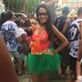 Fantasia Completa Robin Body Saia Tule Máscara Adulto Batman