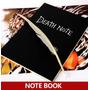 Caderno Death Note Mangá - Réplica Do Caderno Do Light