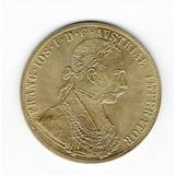Moneda Del Imperio Austro-húngaro De 1874 (chapada En Oro)