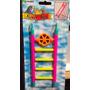 Escalera Multicolor Para Pajaros Marca Hagen Tweet Toys