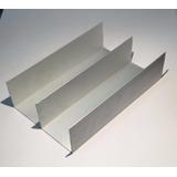 Riel Aluminio Inferior Y Superior Para Placard 2mts