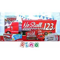 Disney Cars No Stall Hauler - Caminhão 123 Lacrado Mattel