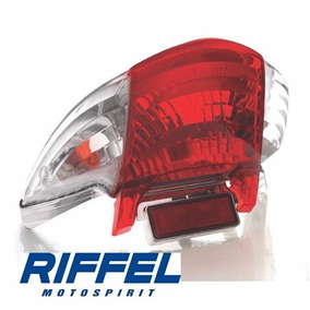 Lanterna Traseira Completa Biz 125 06 07 08 09 10 Riffel